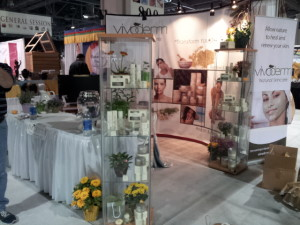 VIVODERM skincare at the ICES spa trade show