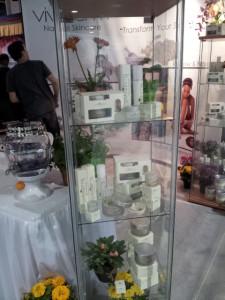 Vivoderm product displays