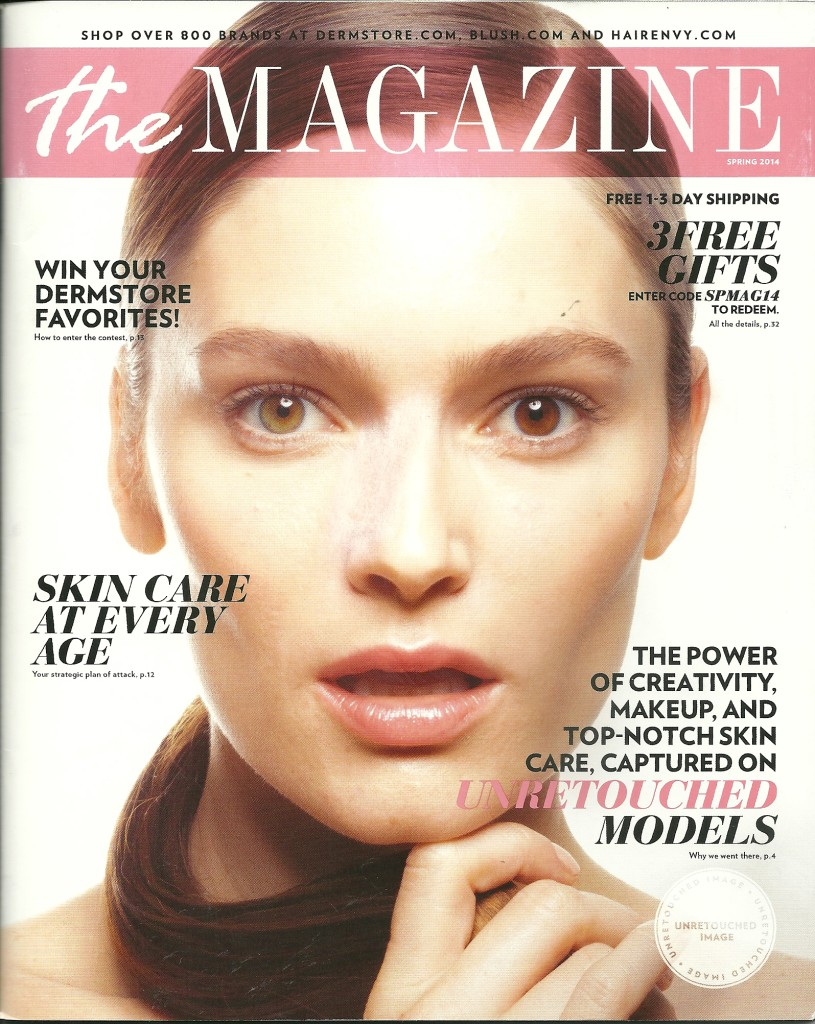 Dermstore Spring 2014 Cover