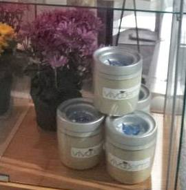 Our large jars of herbal masks